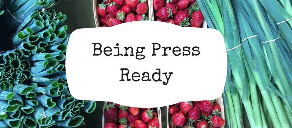 contacting reporters to promote your farmers market