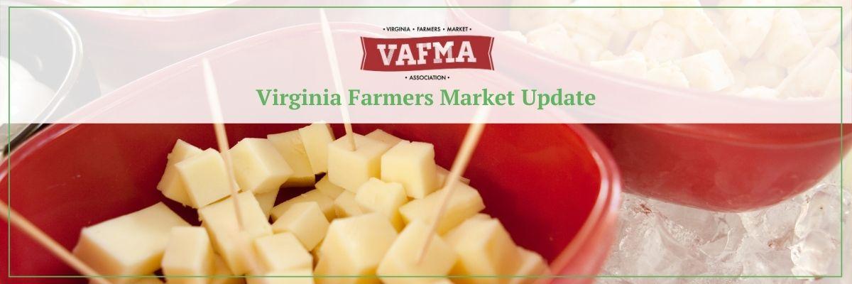 sampling at virginia farmers markets
